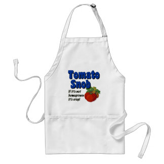 Tomato Snob Funny Cooking Saying Apron