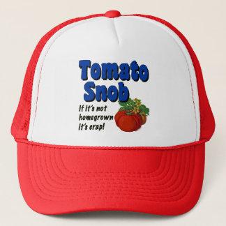 Tomato Snob Gardener Saying Hat