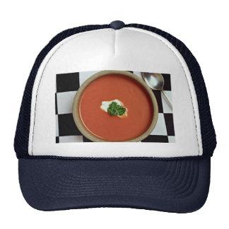 Tomato soup mesh hats