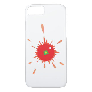 Tomato Splatt! iPhone case