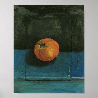 Tomato Still Life Painting Poster