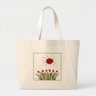 Tomato Sun Jumbo Tote Bag