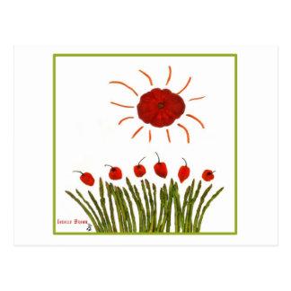 Tomato Sun Postcard