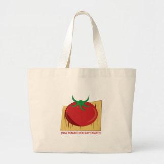 Tomato Tamato Tote Bag
