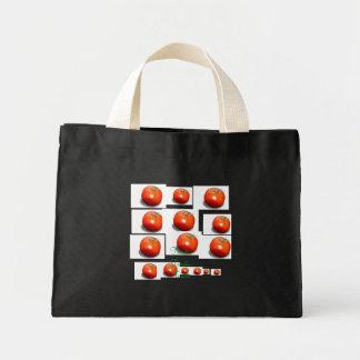 tomato, tomato, tomato, tomato, tomato, tomato,... canvas bag