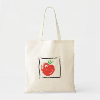 tomato tote budget tote bag
