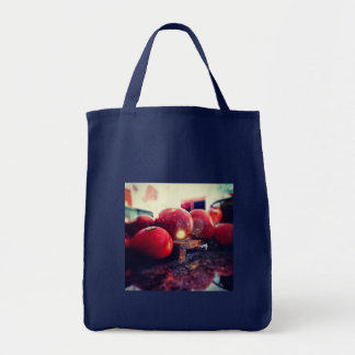 Tomato Totte Grocery Tote Bag