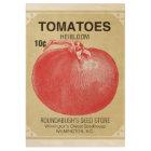 Tomatoe Seed Vintage Poster Ephemera