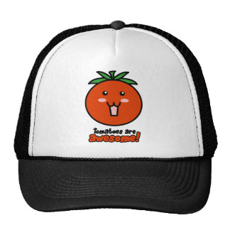 Tomatoes are Awesome Trucker Hat