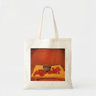 Tomatoes & Bowl Budget Tote Bag