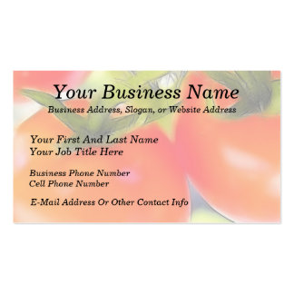 Tomatoes Close Up Business Cards