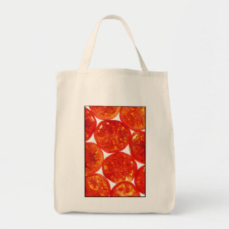 TOMATOES GROCERY TOTE BAG