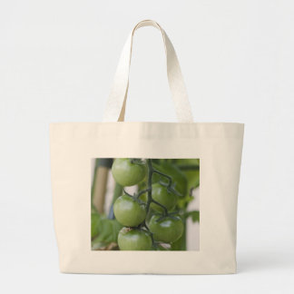 tomatoes in the garden tote bags