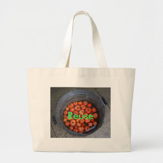 Tomatoes, Reuse Jumbo Tote Bag