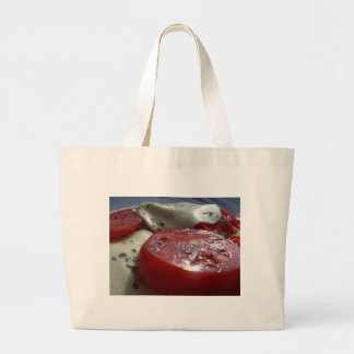Tomatoes with Cheese Canvas Bags