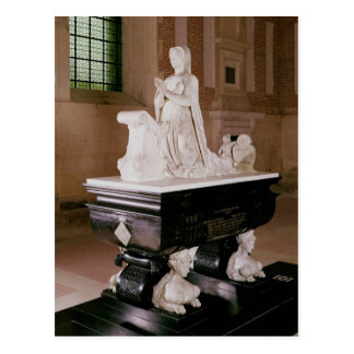 Tomb of Diane de Poitiers Postcard