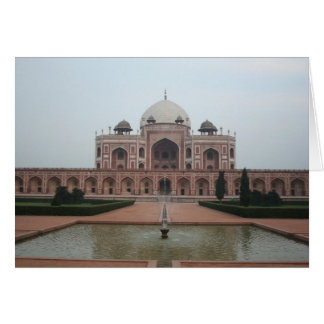 Tomb of Humayun Delhi India Card