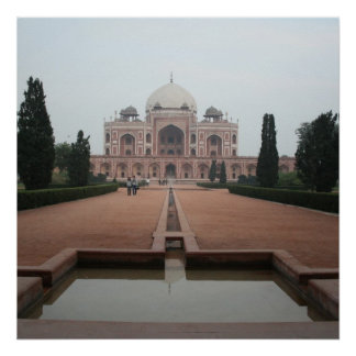 Tomb of Humayun Delhi India Posters