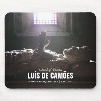 Tomb of Luis de Camoes in the Jeronimos Monastery Mousepad