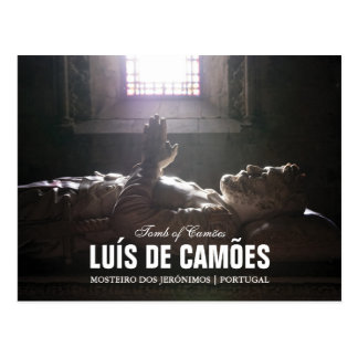 Tomb of Luis de Camoes in the Jeronimos Monastery Post Cards