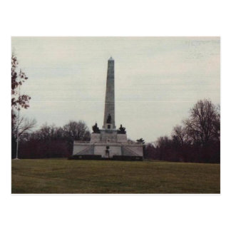 Tomb of our 16th President. Postcard