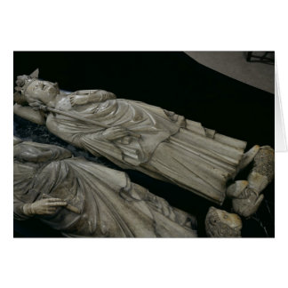 Tomb of Philippe IV  Le Bel, 1327 Card