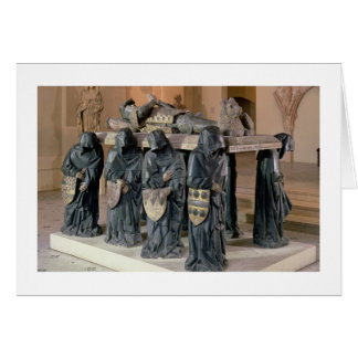 Tomb of Philippe Pot (1428-94) from Citeaux Abbey, Card