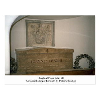 Tomb of Pope John 23rd Postcard
