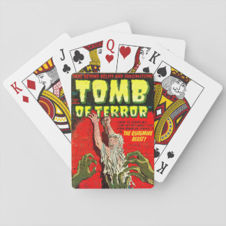 Tomb of Terror The Quagmire Beast Playing Cards