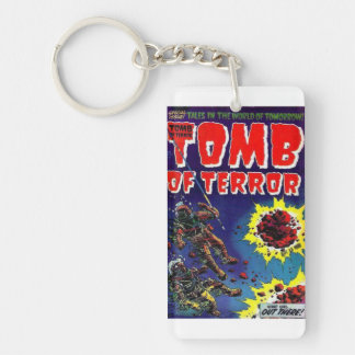 Tomb of Terror What Was Out There Keychain