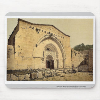 Tomb of the Virgin, and Cave of Agony, Jerusalem, Mouse Pad