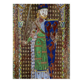 Tomb plaque of Geoffrey Plantagenet Postcard