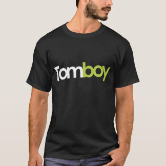 Tomboy Magazine Black Logo T-Shirt