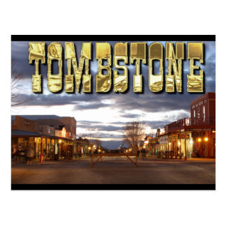 Tombstone AZ Postcard