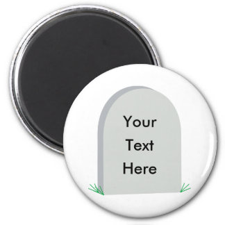 tombstone fridge magnet
