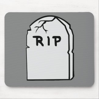 tombstone R.I.P Mouse Pad