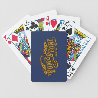 Tombstone Saloon Bicycle Playing Cards