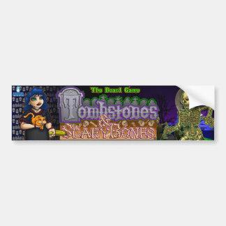 Tombstones & ScaryBones Bumper Sticker
