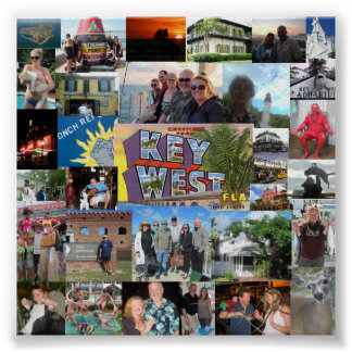 Tomczak Family Key West Poster