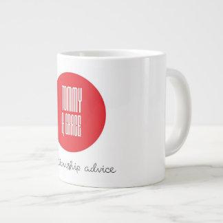 Tommy and Grace Large Coffee Mug