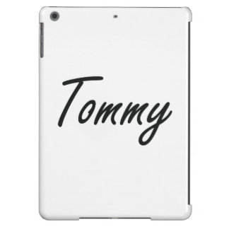 Tommy Artistic Name Design iPad Air Covers
