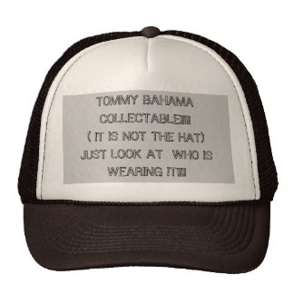 TOMMY BAHAMA COLLECTABLE!!!!!( IT IS NOT THE HA... CAP