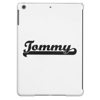 Tommy Classic Retro Name Design Cover For iPad Air