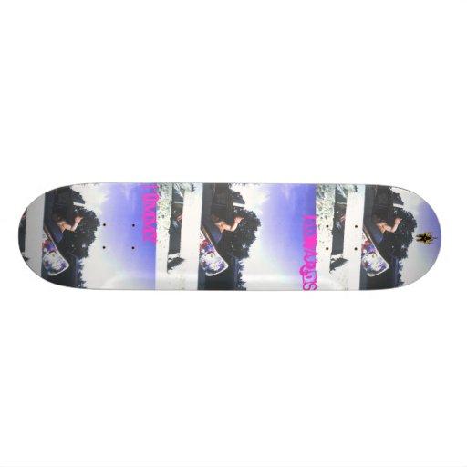 Tommy Edwards Death Box Smyth Skateboard Decks