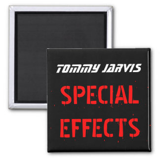 Tommy Jarvis Square Magnet