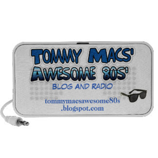 Tommy Macs' Awesome 80s' Promotional Speaker