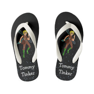 Tommy Tinker Custom Flip Flops, Kids Kid's Thongs