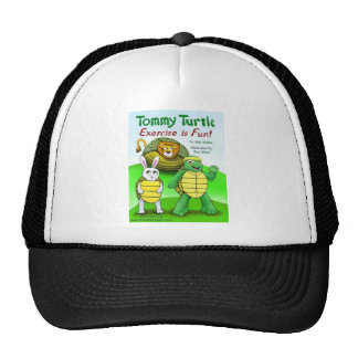 Tommy Turtle: Exercise is Fun! Trucker Hat
