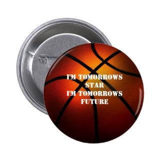 Tomorrows Star Tomorrows Future Basketball Button