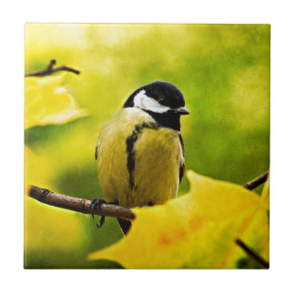 Tomtit - Dressed To The Season Ceramic Tile